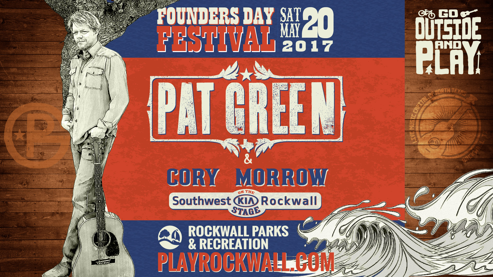 Southwest Kia Rockwall >> Play Rockwall Pat Green Cory Morrow To Play At The 2017